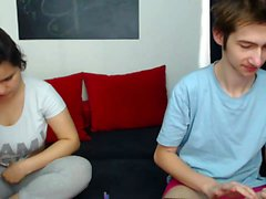 Cute teen show boobs on webcam