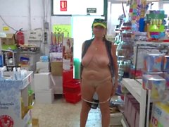 mognar offentlig nakenhet hd-video gammal