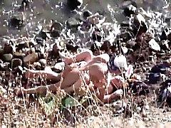 amatööri ranta suihin ruskeaverikkö piilotettu kamerat