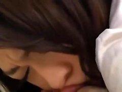 Cute girlfriend fuck masturbation blowjob japanese