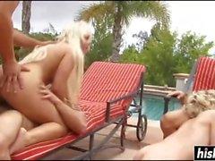 Babes in bikini are having some fun