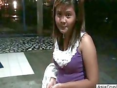 pov aziatisch tiener