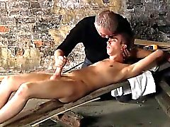 Gay video British lad Chad Chambers is his recent victim, li