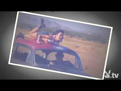 Crazy Nude Girls Car Surfing!
