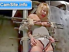 Big Ass Milf Abused and Bound