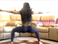 mizz twerksum ultimate leggings twerking compilation