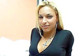 POV with sexy brazilian