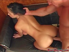 Busty Laura Lion Gets Her Ass Drilled Hard