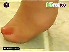 pierotico taarten voeten fetisch