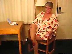 Fat Granny Wearing Pantyhose