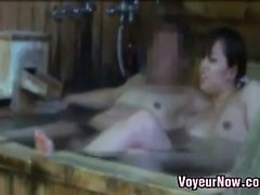 Spying On Asian Whores At A Bath House