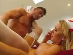Busty Nurse Gets Fucked By Patient