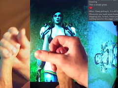 Cum Tribute to Azaer (Human, World of Warcraft)