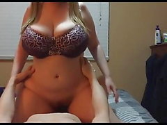 Chubby Teen With Huge Tits Having Passionate Sex