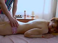 blond hardcore massage