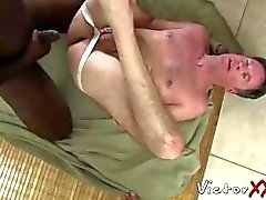 Dameon Sadi stuffing Rick Jagger ass with his big black cock