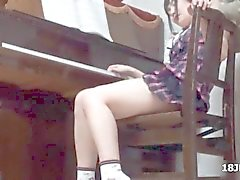 asiatique japonais étudiant innocent menue