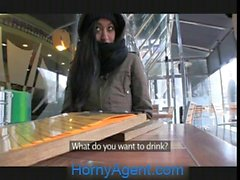 HornyAgent Homeless girl gets fucked to pay for hotel