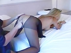 Hot Wife Rio In Crotchless Panties