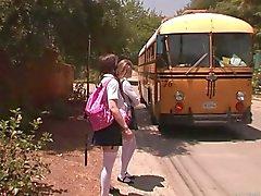 Faye Reagan - bus stop girls