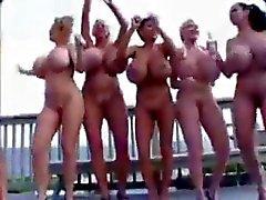 Fake Tit Goddesses All Oiled Up