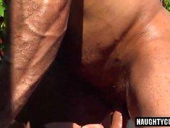 Big dick bear fisting with cumshot