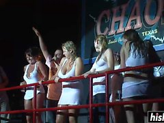 Awesome girls get to dance on the stage