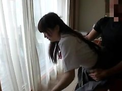 Japanese babe cunt banged hardcore in a hotel room