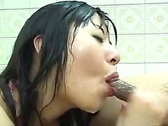 asiático bebê boquete gozada