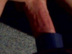 Dick cum in Vacuum Cleaner.