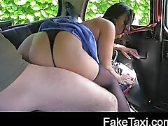 Naughty nurse in cab confession