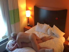 Mature men suck and fuck, after the condom break. Very hot