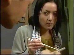 asiatisk japansk milf pov
