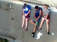 поймали заезда для публичного общественного мастурбация подростков - masturbation