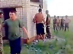 prostituée russe - gangbang amateur extérieur