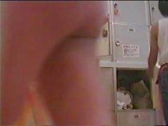 câmaras ocultas japonês voyeur vestiário escondido