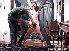 bdsm träldom brunett fetisch