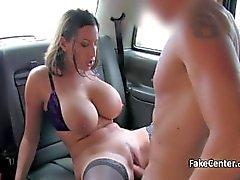Black stocks babe fuck taxi driver