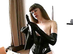BDSM Latex solo