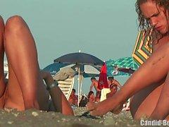 praia lésbicas voyeur