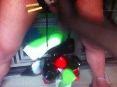 torção femdom asiático footjob