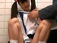 asiático hardcore japonês jovens de idade público