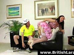 anal britannique brunette