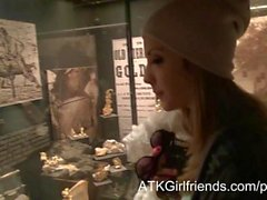 Your POV ATKGirlfriends date w Karla Kush leaves her mouth full of hot cum