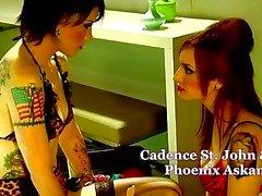 emo gótico lesbianas