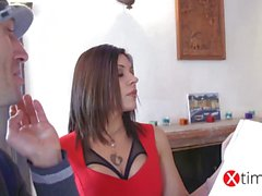 Italian Pornstar - Valeria Borghese - The painter xtime TV