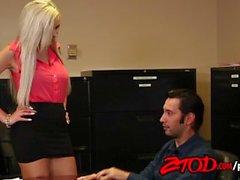 Office cougars love lots of dicks! Nina Elle loves them all!