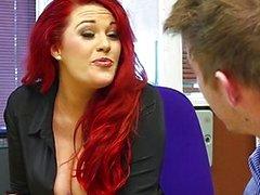 paar vaginale seks orale seks redhead