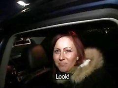 PublicAgent Belinda given a creampie a public car park
