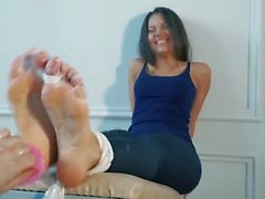 Foot Arches Tickling